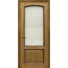 Дверь Верона де Канте со стеклом рустик дуб