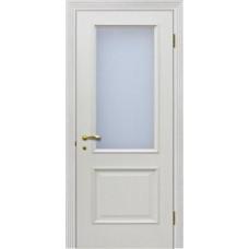 Дверь Версаль со стеклом патина ваниль