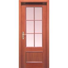 Дверь Е4206 Шпон красного дерева
