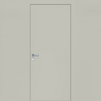 Двери Грунтованные скрытые Evolution 03 алюминиевым торцом