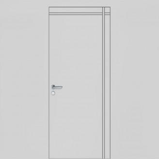 Двери Грунтованные скрытые Secret 02