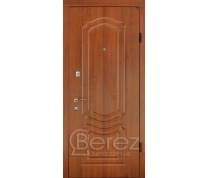 Дверь Берез 101 орех светлый