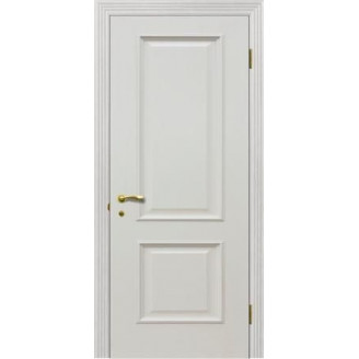 Дверь Версаль глухая патина ваниль