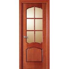 Дверь 380VRI Шпон красного дерева