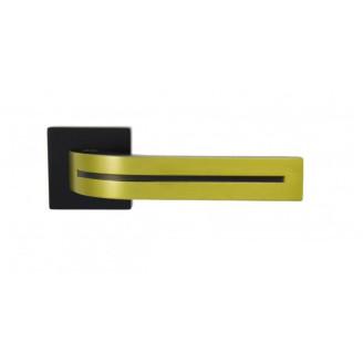 Ручки Siba KOMETA чёрная - состаренная латунь