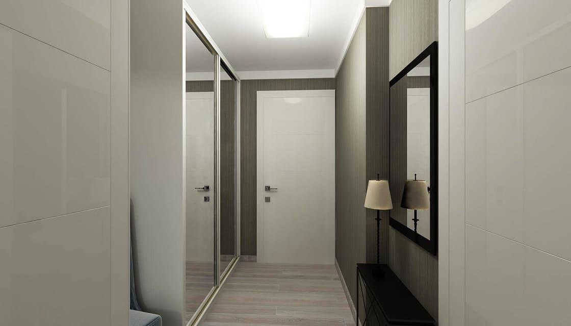 Интерьер квартиры со светлыми дверями - СОЛО ДВЕРИ